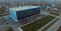 Арча-Бешиктеги Газпром курган спорт комплексинин ички-тышкы көрүнүшү