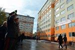 Президент Алмазбек Атамбаев 31 октябрда  милиция кызматкерлерине батир берүү салтанатында