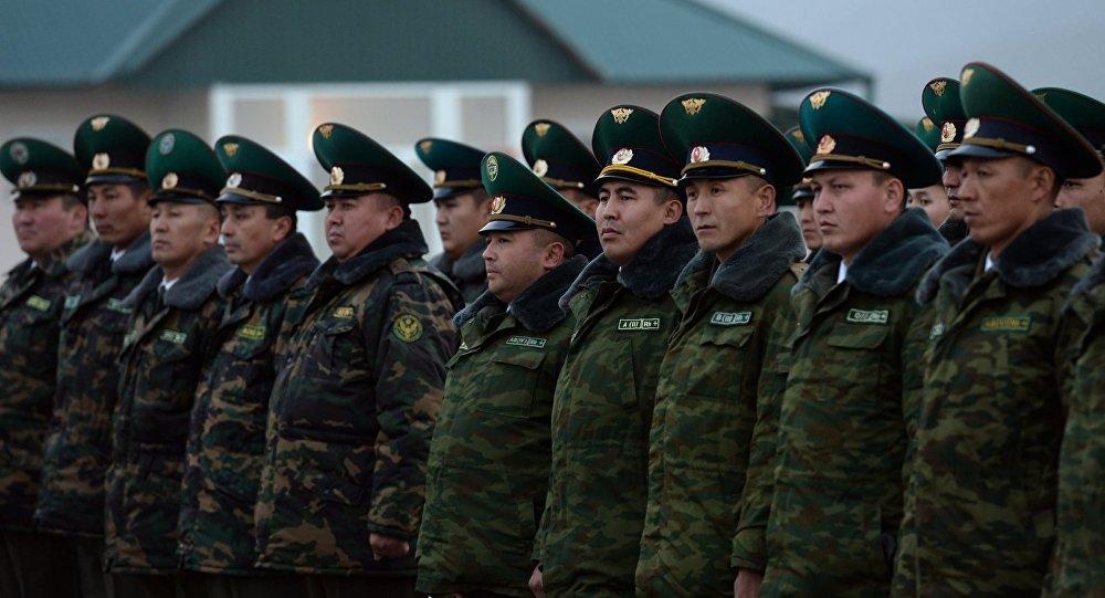 Кыргызстандын чек арачылары. Архивдик сүрөт