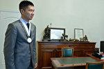Кыргызстандык шахматчы Семетей Төлөгөн тегиндин архивдик сүрөтү