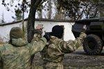 Архивное фото сотрудников спецслужб Крыма во время тренировок