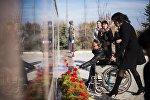 Пеший марш людей с ОВЗ в Воронцовке