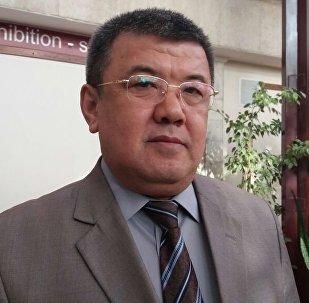 Архивное фото заместителя председателя Центрального избирательного комитета Абдыжапара Бекматова