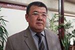 БШК төрайымынын орун басары Абдыжапар Бекматовдун архивдик сүрөтү