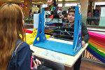 Дети мастерили и играли на выставке изобретений в Бишкеке