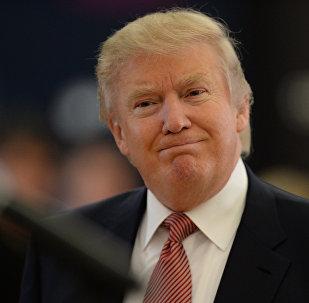 АКШ президенти Дональд Трамптын архивдик сүрөт