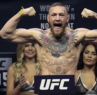 Ирландиялык UFC мушкери Конор Макгрегордун архивдик сүрөтү