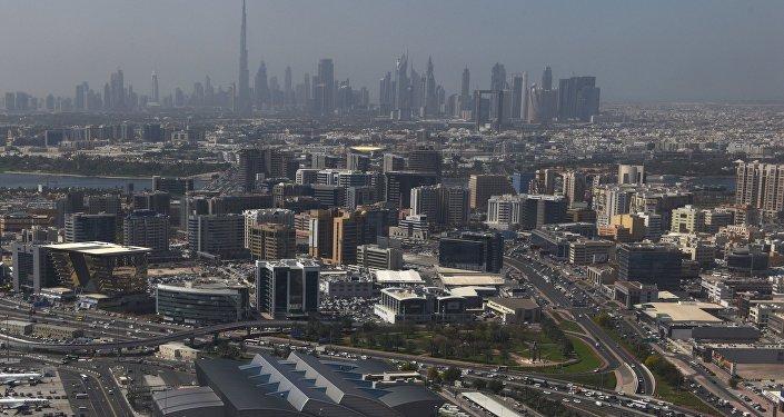 Вид на здание международного аэропорта Дубай. Архивное фото
