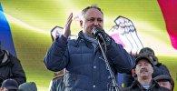 Архивное фото лидера Партии социалистов Игоря Додон