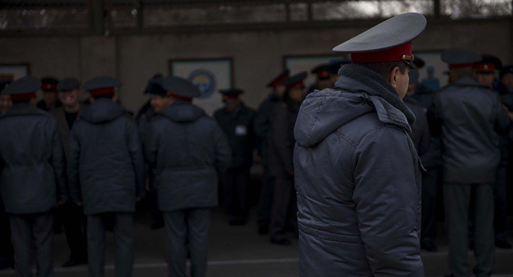 Сотрудники МВД КР. Архивное фото