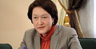 Архивное фото председателя Центральной комиссии по выборам и проведению референдумов Кыргызской Республики Нуржан Шайлдабекова