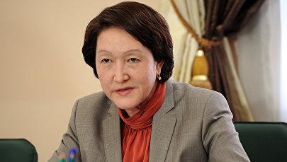 Борбордук шайлоо комиссиясынын төрайымы Нуржан Шайлдабекова