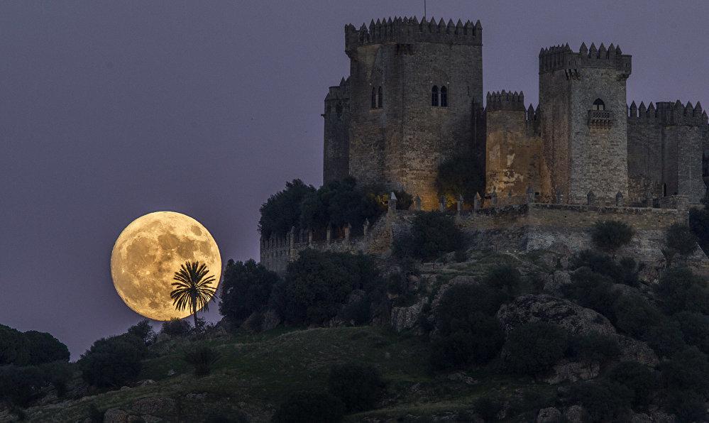 Супер-Луна — какой ее увидели в разных точках мира - ФОТО - Фото
