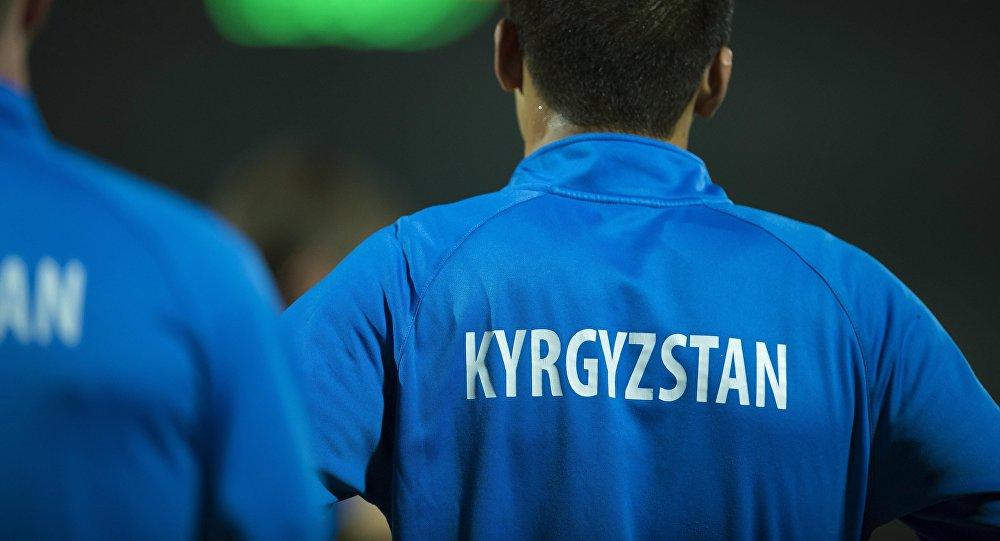 Кыргызстандын футболчусу. Архивдик сүрөт
