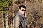 Заместитель директора Департамента туризма Максат Усубалиев