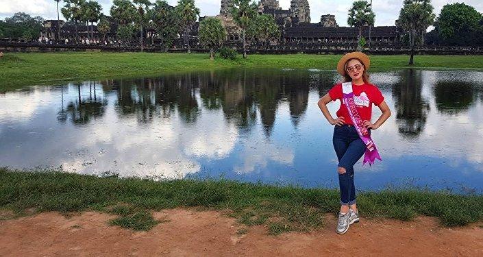 Кыргызстанка Айсулуу Абдыбакасова представляет страну на международном конкурсе красоты Miss Tourism Metropolitan International — 2016 в Камбодже