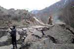 Нарын облусуна караштуу Миң-Куш айыл аймагында 15-ноябрда көчкү жүргөн