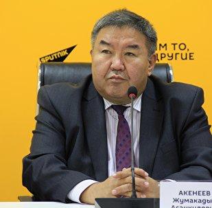 Архивное фото экономического эксперта Жумакадыра Акенеева