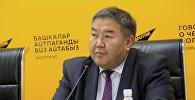 Экономика илимдеринин доктору, КРдин эмгек сиңирген экономисти Жумакадыр Акенеевдин архивдик сүрөтү