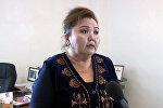 Райондук маданият бөлүмүнүн башчысы Айсулуу Ходжаева