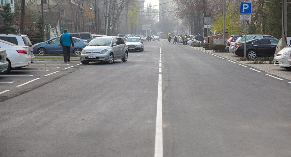 Отрезок улицы Орозбекова от Токогула до Московской после ремонта