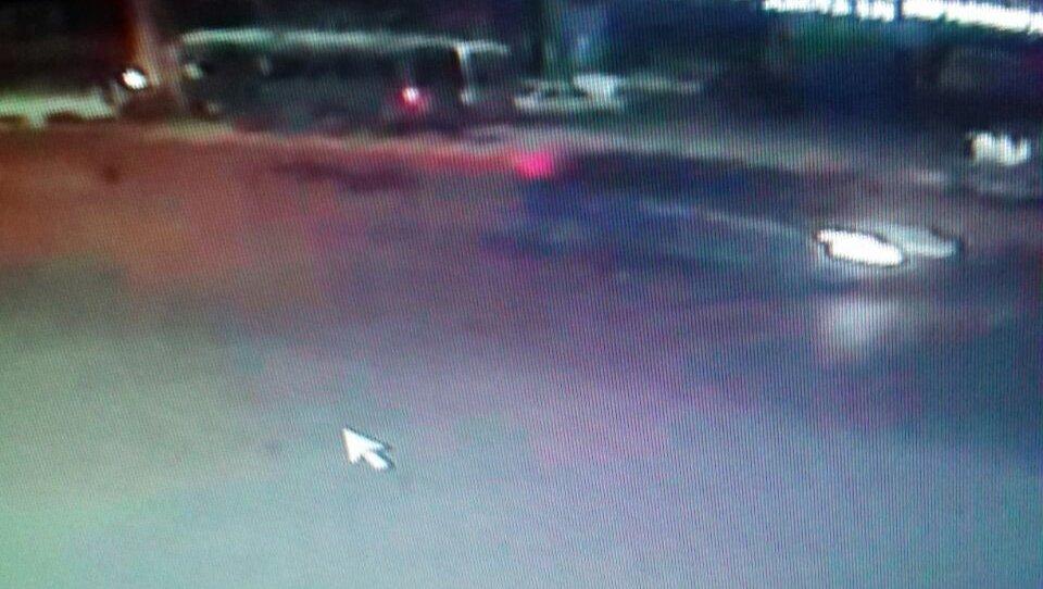 Автомобиль совершивший наезд со смертельным исходом на пересечении проспекта Дэн Сяопина и улицы Патриса Лумумбы