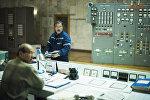 Токтогул суу сактагычындагы электр станцияларды башкарган зал
