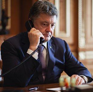 Украинанын президенти Петр Порошенконун архивдик сүрөтү