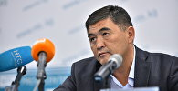 Кандидат в депутаты от партии Республика — Ата-Журт Камчыбек Ташиев. Архивное фото