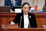 Вице-премьер Чолпон Султанбекованын архивдик сүрөтү
