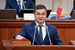 Юстиция министри Уран Ахметовдун архивдик сүрөтү