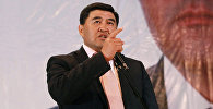 Архивное фото кандидата в президенты Камчыбека Ташиева
