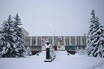 Каракольский храм культуры —музыкально-драматический театр имени Касымалы Джантошева. Архивное фото