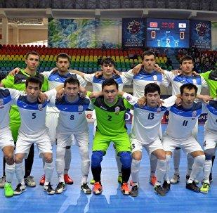Кыргызстандын футзал боюнча курама командасы. Архивдик сүрөт
