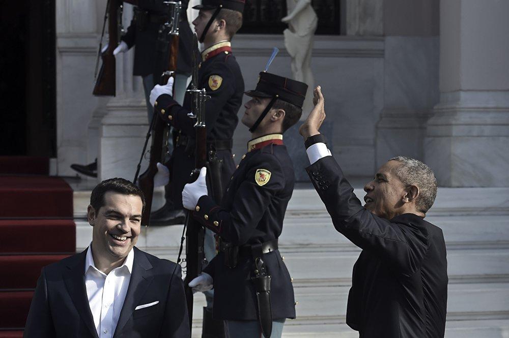 АКШнын президенти Барак Обама шейшемби күнү Грецияга эки күндүк иш сапар менен келди. Ал аталган өлкөнүн өкмөт башчысы Алексис Ципрасты реформа жүргүзгөндүгү менен куттуктады.  өЦипрастын айтымында, мындай кадамдар өлкөнү атаандаштыкка туруктуу кылат.