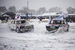 Битва легковых машин на картодроме в Канте