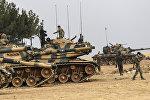 Сириядагы Түркия аскерлери. Архивдик сүрөт