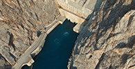 Токтогульская ГЭС — взгляд сверху и изнутри