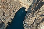 Токтогул ГЭСи — асмандан жана ички көрүнүшү