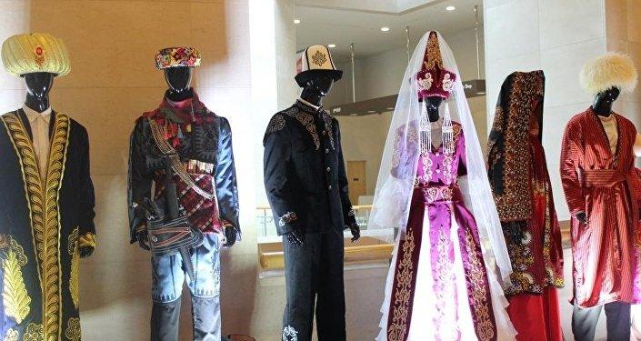 Кыргызстанская экспозиция на выставке о Кыргызстане в Сеуле (Южная Корея)
