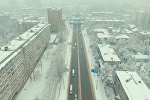 Кар алдындагы Бишкектин асмандан көрүнүшү