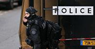 Сотрудники полиции, обеспечивающие безопасность в Франции. Архивное фото