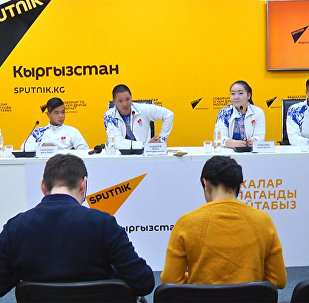 О планах группы Тумар рассказали в пресс-центре Sputnik Кыргызстан