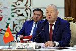 Вице-премьер министр КР Жениш Разаков. Архивное фото