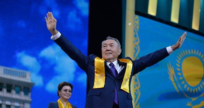 Архивное фото президента РК Нурсултана Назарбаева