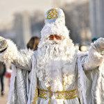 Кыргызский Дед Мороз — Аяз ата.