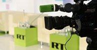 Логотип RT. Архивное фото