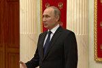 Путин назвал резолюцию о противодействии российским СМИ деградацией демократии