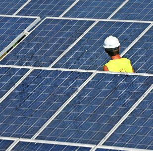 Солнечная электростанция. Архивное фото