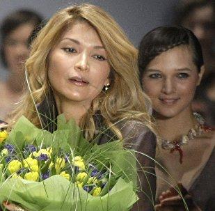 Өзбекстандын биринчи президенти Ислам Каримовдун кызы Гүлнара Каримова. Архив